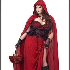 Red Riding Hood Halloween Costume🎃